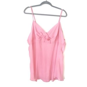 Pink Rosette Nightgown 2x
